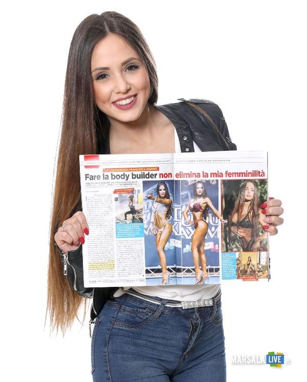 Francesca Marino conquista Settimanale OGGI (1)