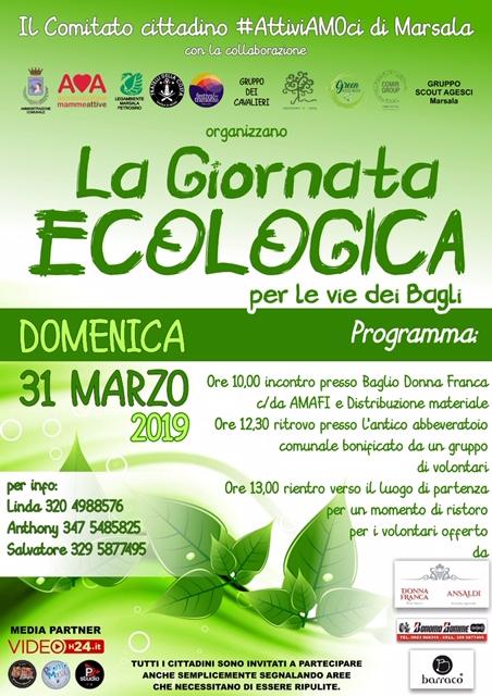 Giornata Ecologica per la Via dei Bagli, Marsala 2019