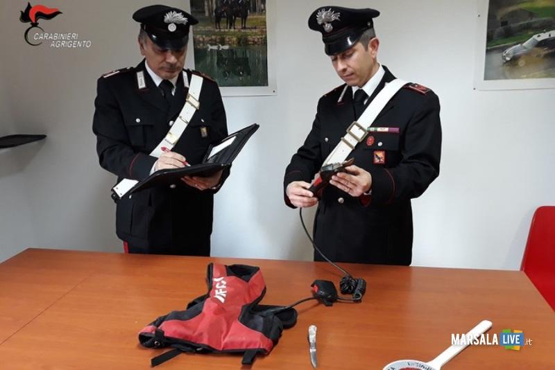 Giustizia fai da te ad Agrigento - Carabinieri