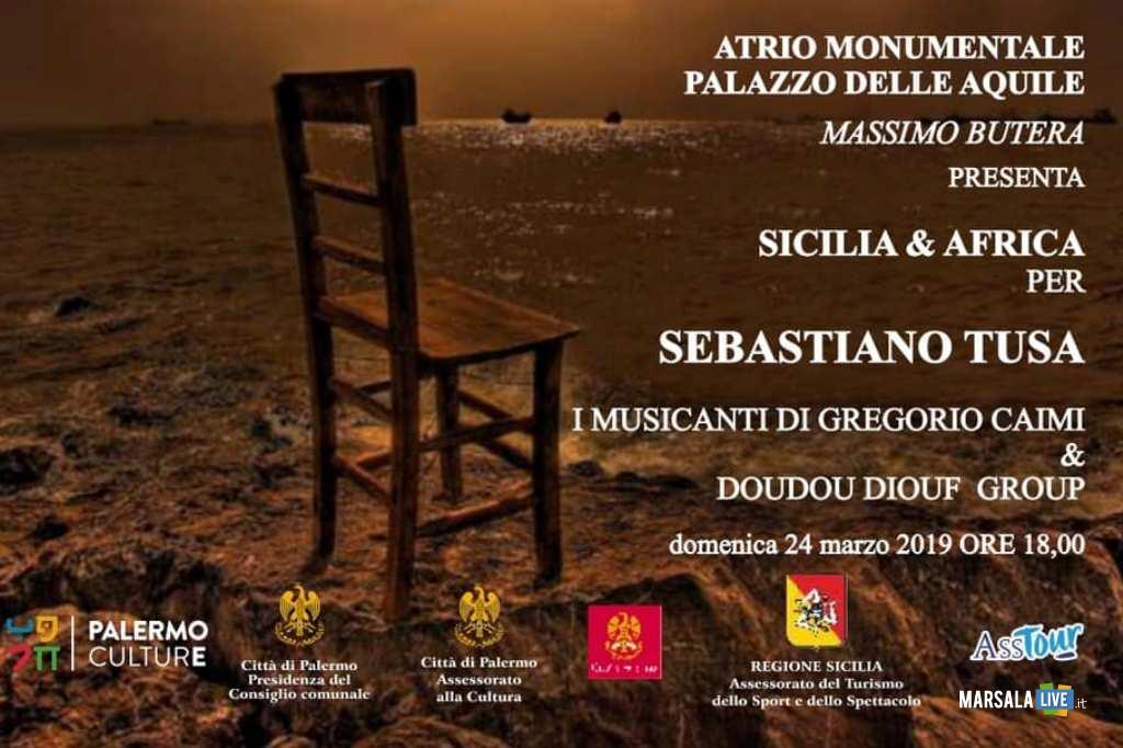 I Musicanti di Gregorio Caimi e Doudou Diouf per Sebastiano Tusa
