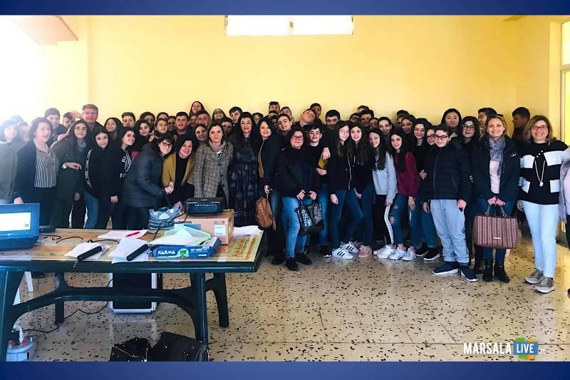 Istituto Alcide De Gasperi Marsala, progetto Non Cadere nella Trappola