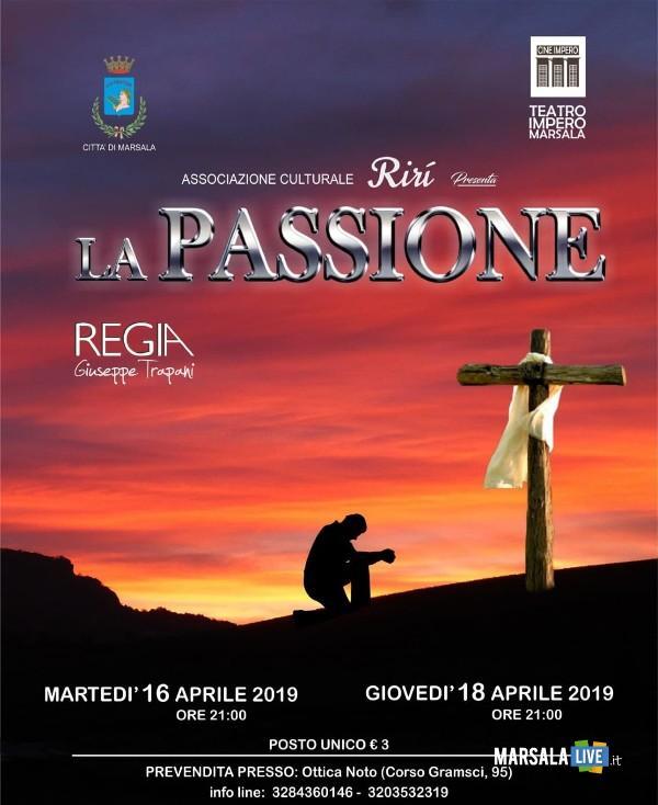 La Passione, spettacolo teatrale a marsala