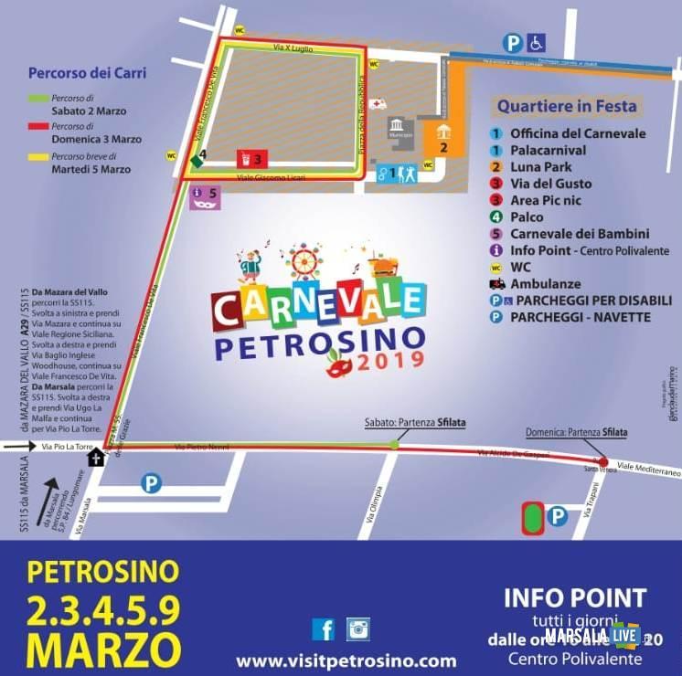 Mappa Carnevale