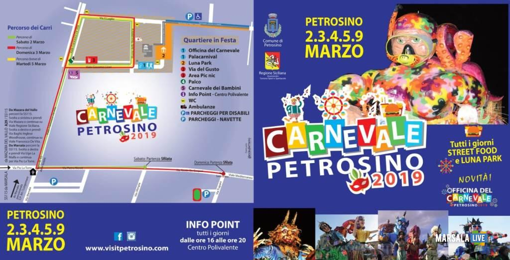 Mappa. Carnevale di petrosino 2019