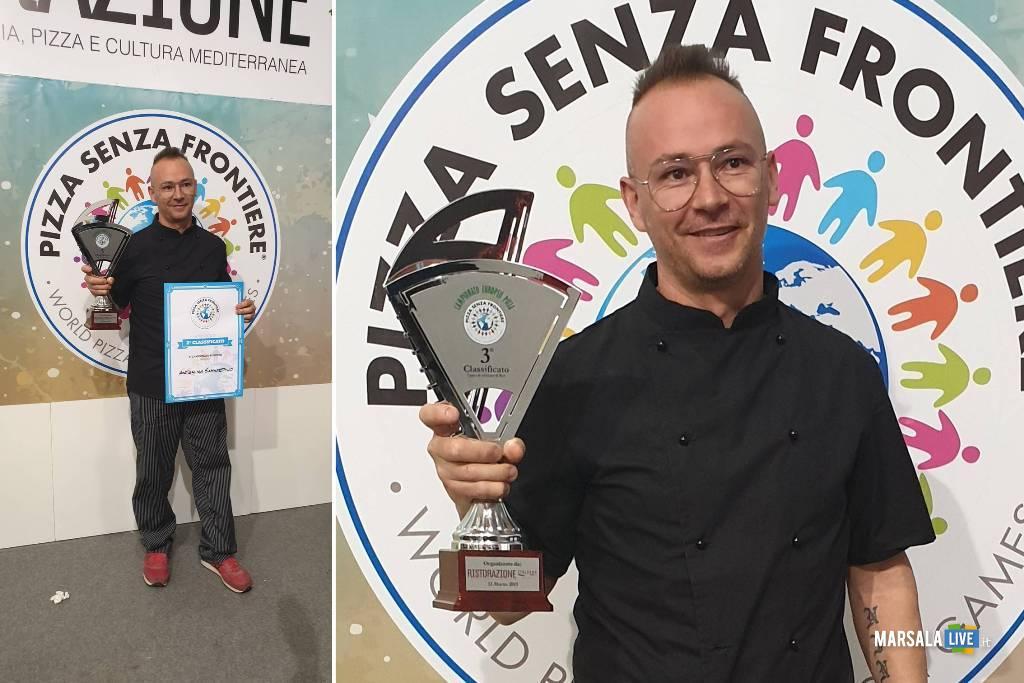 Marsala, Antonino Sammartano finalista del campionato europeo Pizza Senza Frontiere