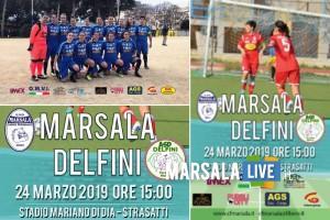 Marsala calcio Femminile. Il CFM ospita il Delfini Vergine Maria
