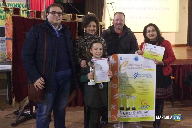 Silvia Amato alla finale dei Giochi Matematici del Mediterraneo (1)