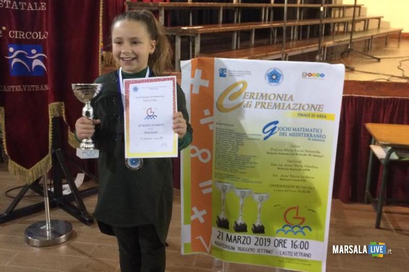 Silvia Amato alla finale dei Giochi Matematici del Mediterraneo (2)