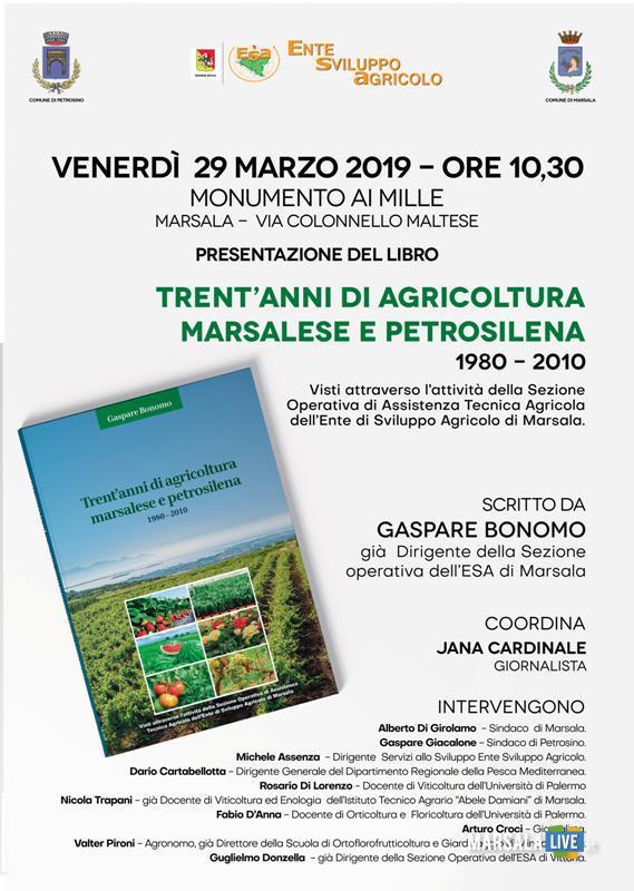 Trent_anni di Agricoltura Marsalese e Petrosilena 1980-2010 - Marsala, 2019