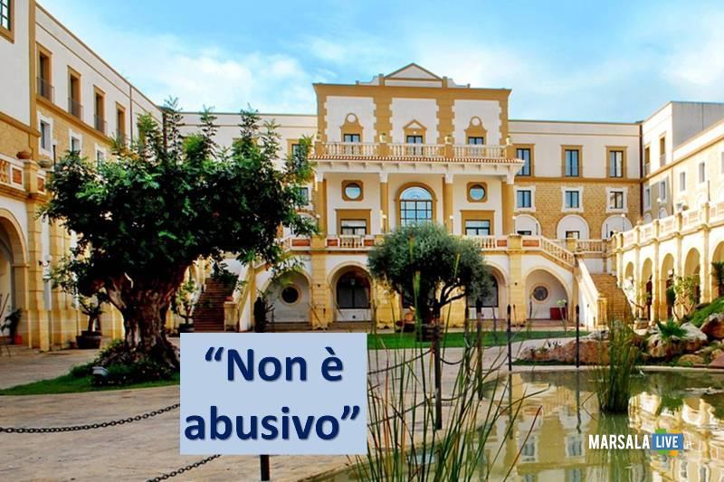 baglio basile a Petrosino, non è abusivo