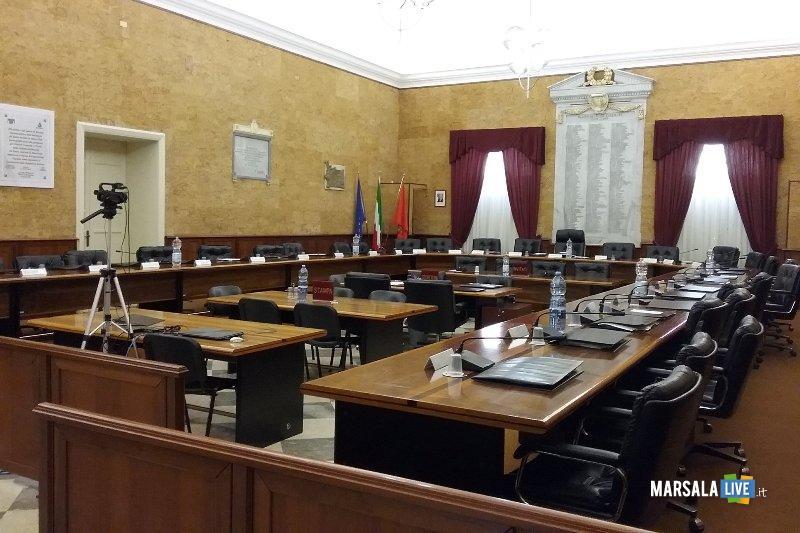 consiglio comunale di Marsala, sala delle lapidi