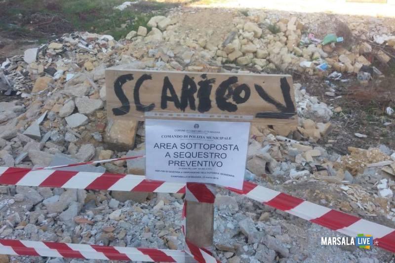 discarica abusiva sequestrata via valenti tre fontane 25.03.2019_2