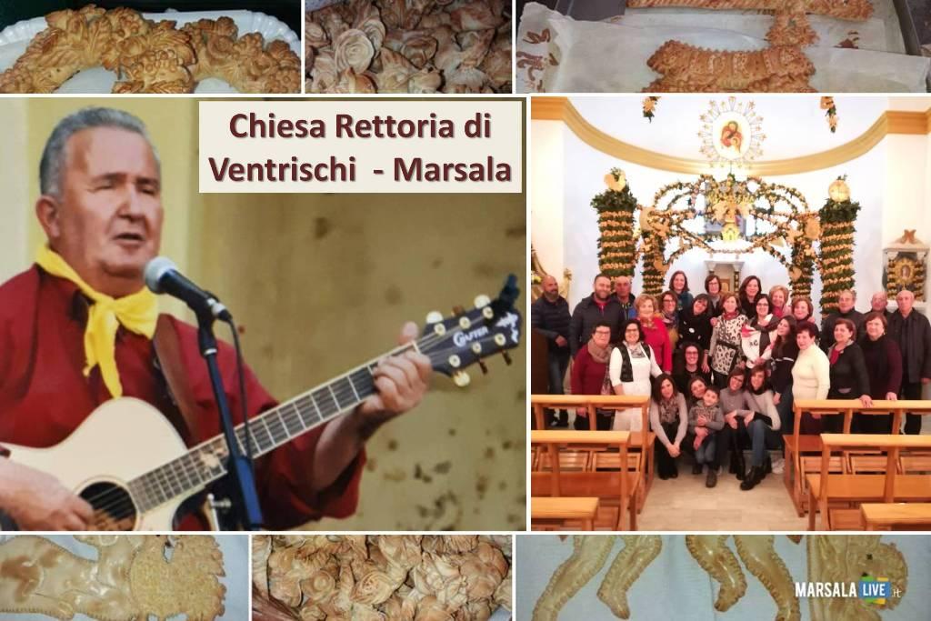 festa per San Giuseppe a Ventrischi altare e panuzzi - Marsala