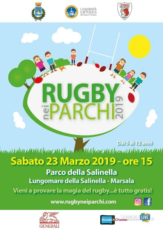 rugby nei parchi - attività