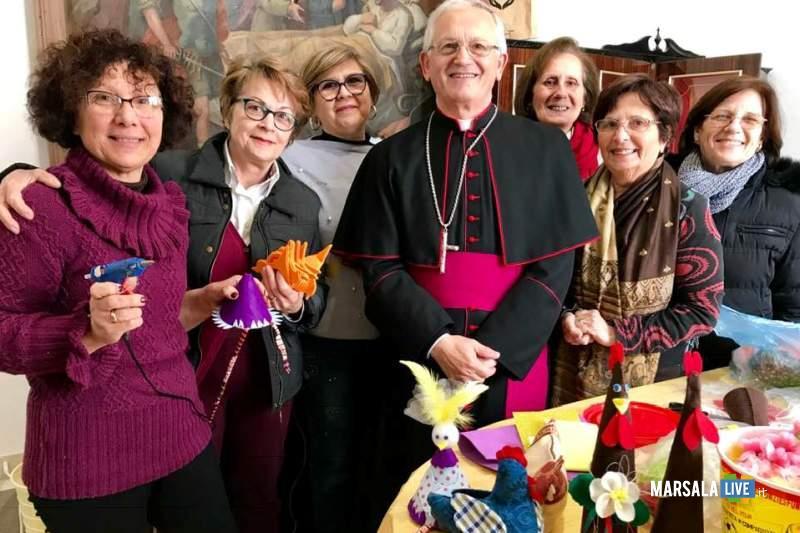 vescovo volontari caritas
