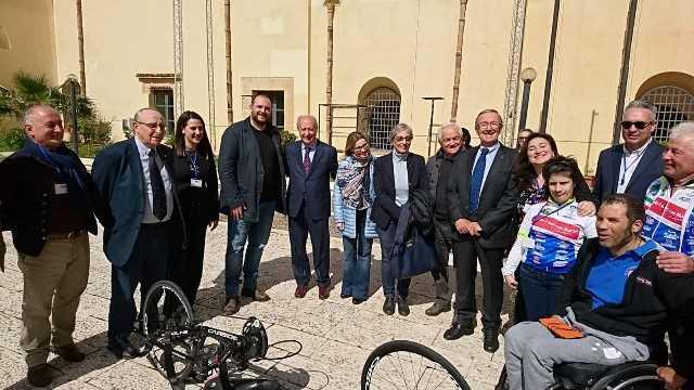 14 Il gruppo di lavoro con il Sindaco Di girolamo, Marzia e Gianni Raineri