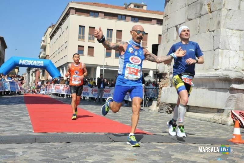 - Atl. - Michele D'Errico all'arrivo della Maratona di Rimini
