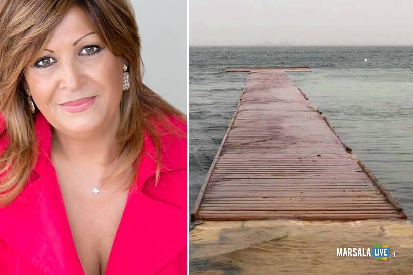 Eleonora Lo Curto, Stagnone, pontili