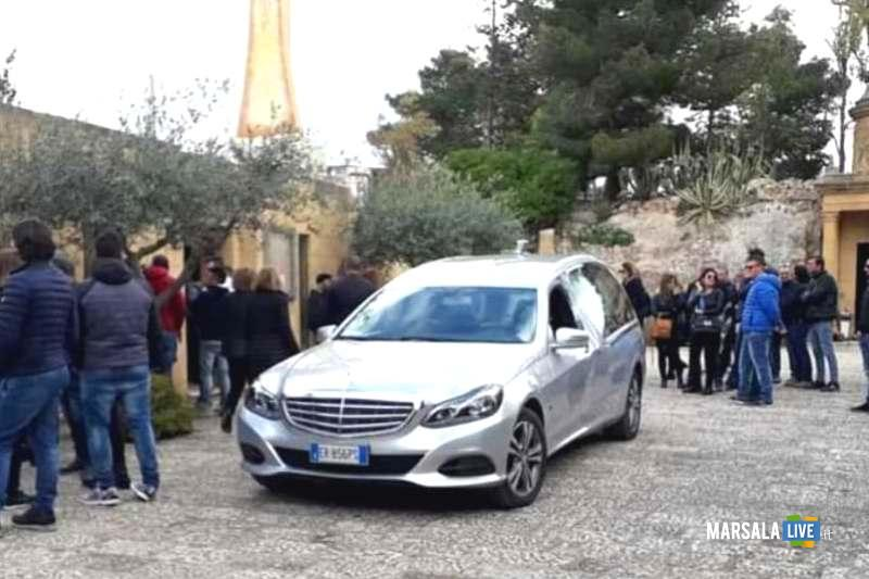 Funerali di Gianni Genna, Santo Padre delle Perriere, Marsala (1)