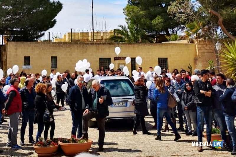 Funerali di Gianni Genna, Santo Padre delle Perriere, Marsala (4)