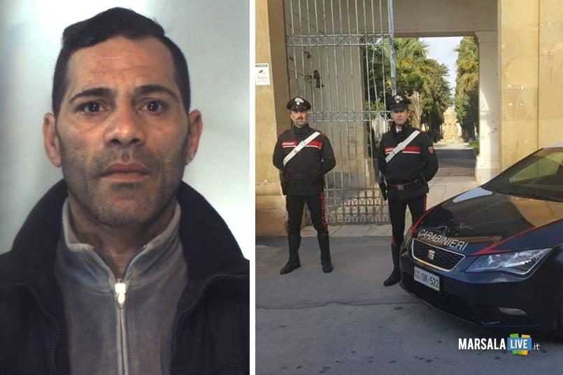 Mario Perez, carabinieri di mazara del vallo