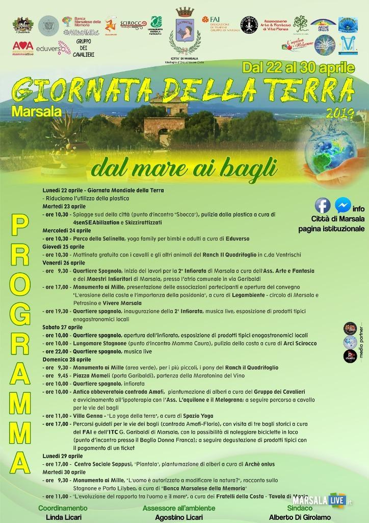 Marsala, Giornata Mondiale della Terra locandina