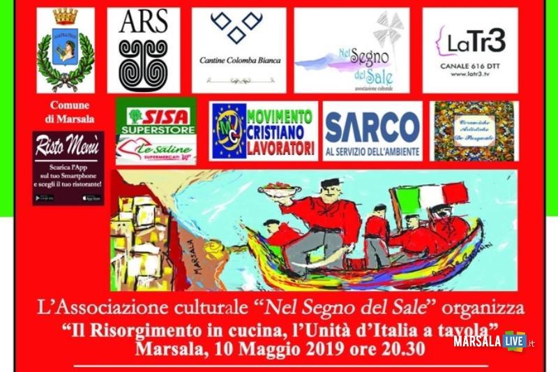 Marsala, Il Risorgimento in cucina, l_Unità d_Italia a tavola