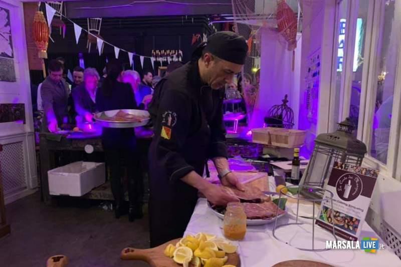 Sicilia al Vinitaly. Lo chef Agliano al Finitaly (1)