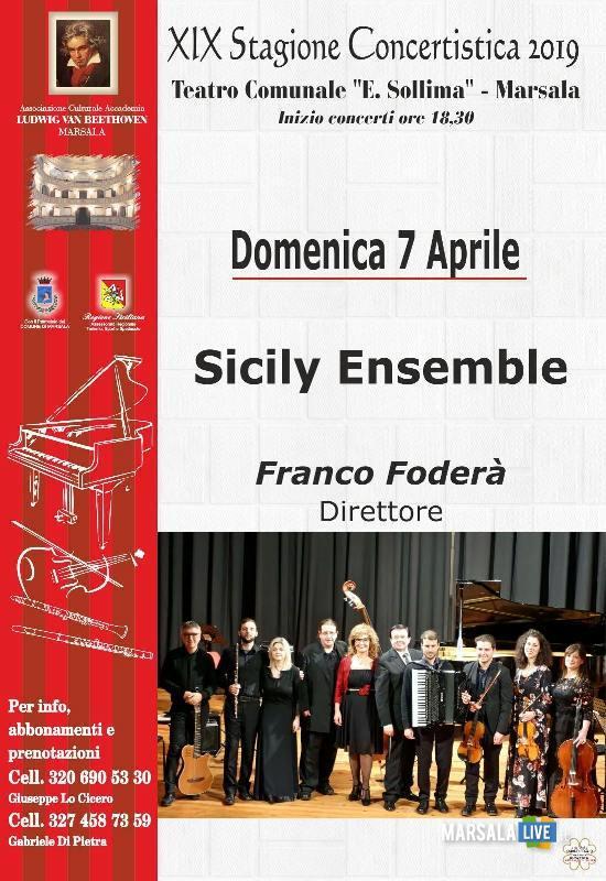 Sicily Ensemble, marsala - concerto sollima