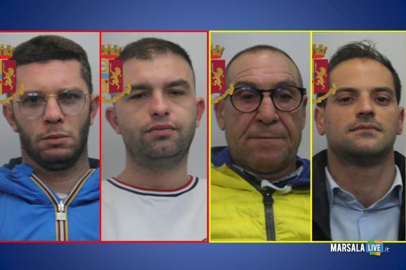 Vincenzo Sparla, Alessio Sparla, Nicolò Titone, Ignazio Mannone