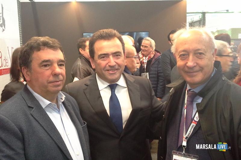 Vinitaly 2019, sindaco Marsala Alberto Di Girolamo incontra produttori (1)