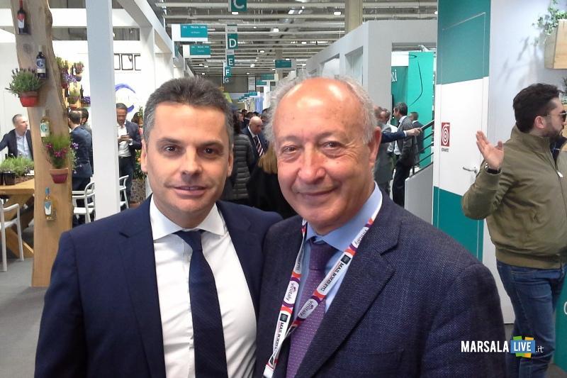 Vinitaly 2019, sindaco Marsala Alberto Di Girolamo incontra produttori (3)