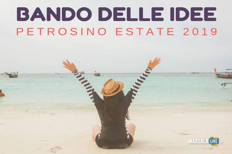 bando delle idee, estate Petrosino 2019