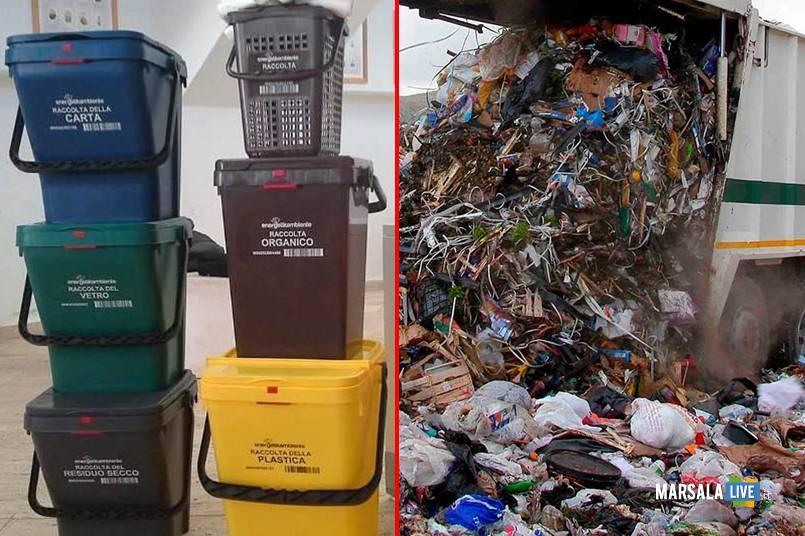emergenza rifiuti organici, marsala
