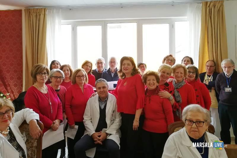il Vescovo Mogavero visita l'ospedale Abele Ajello (1)