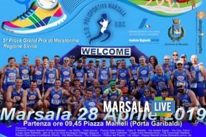 maratonina del vino 2019, marsala