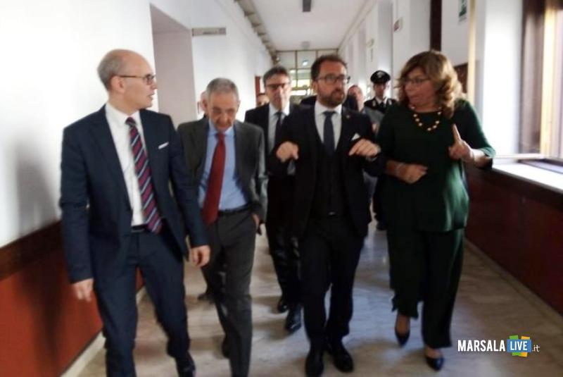 ministro bonafede, nuovo palazzo giustizia marsala