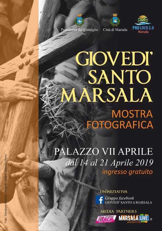 mostra fotografica Giovedì Santo a Marsala 2019