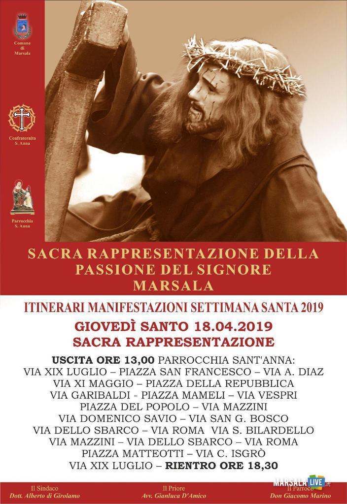 processione del giovedì santo, marsala - 2019