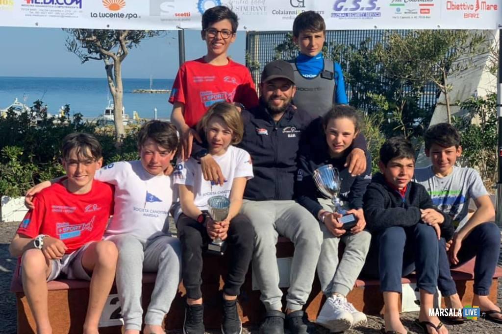 squadra Optimist Società Canottieri Marsala