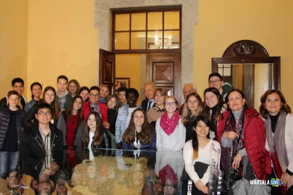studenti europa e Mondo a Marsala