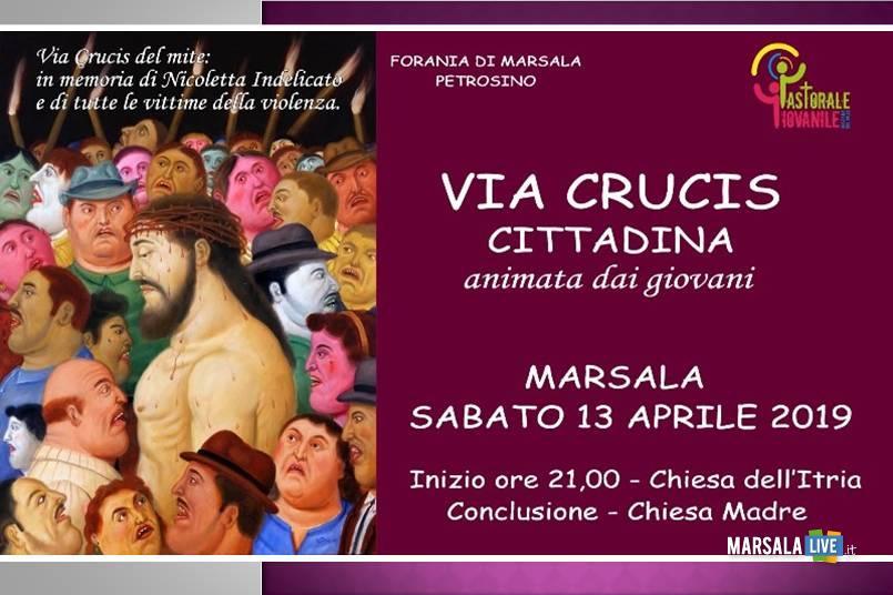 via crucis cittadina, Marsala - 2019
