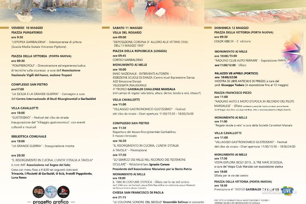 10-12 GARIBALDI 2019 - programma