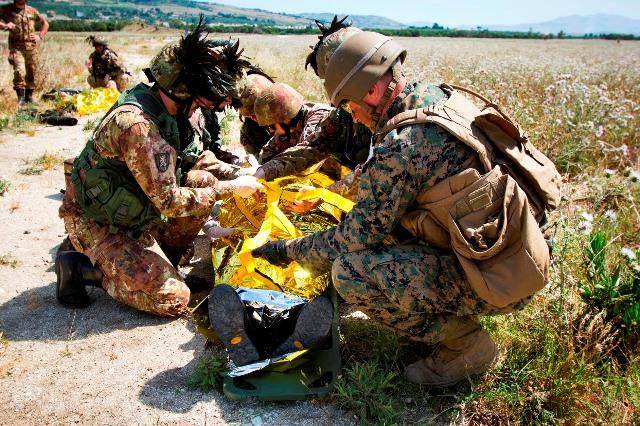 7. intervento soccorritore militare