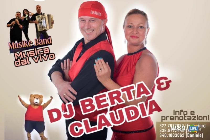 Dj Berta e Claudia, domenica 26 maggio Hotel President Marsala