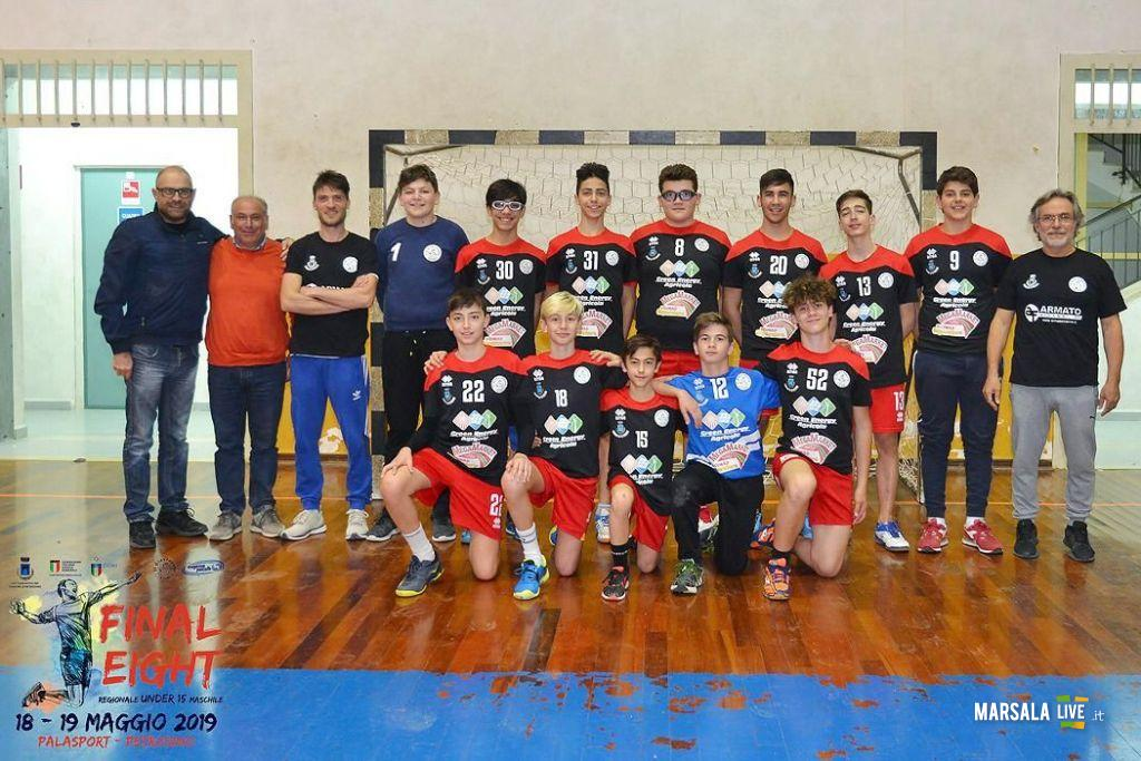 Handball, giovinetto petrosino