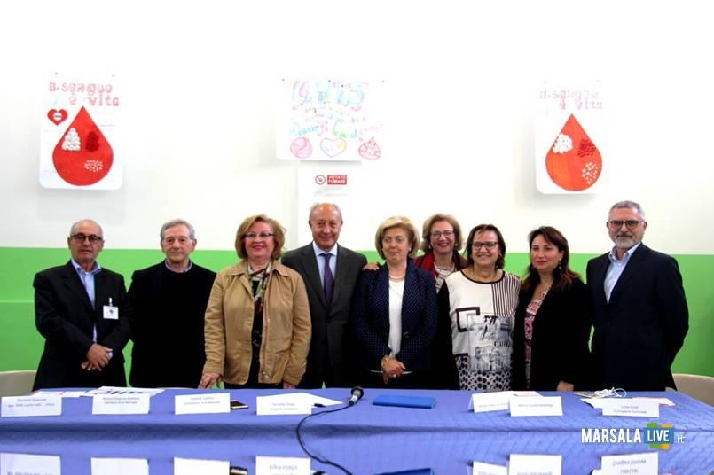 Marsala, sensibilizzazione donazione sangue scuole