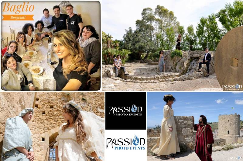 Passion Photo Events, Shooting Borgo Medievale e Baglio Borgesati