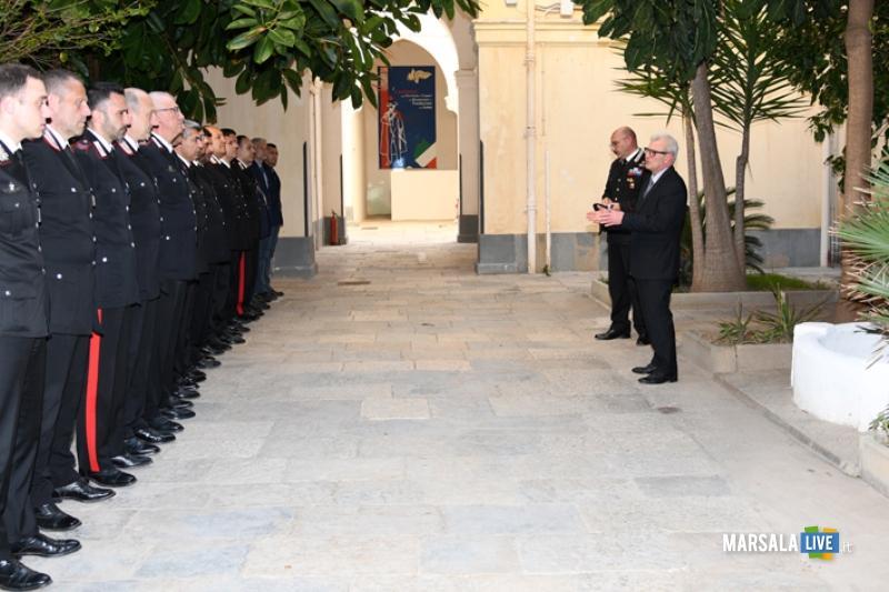 Prefetto Ricciardi visita Comando Provinciale Carabinieri