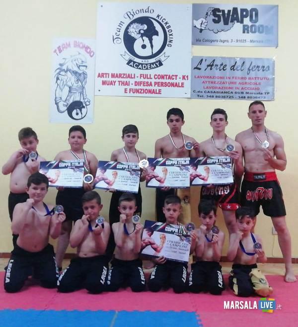 Team Biondo KickBoxing, marsala
